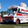 Patriotic Bus Art Car by Paul Pagano
