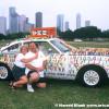 Pez Car Art Car by Cliff Lee