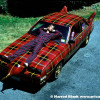 Plaidmobile Art Car by Tim McNally