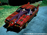 Plaidmobile Art Car by Tim McNally