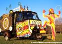 Hoop's Hearse Art Car by Hoop
