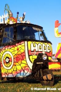 Royal Hoopmobile Art Car by Hoop-Dada Symbolistic