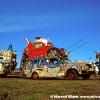 Santa Bug Art Car by Rockette Bob