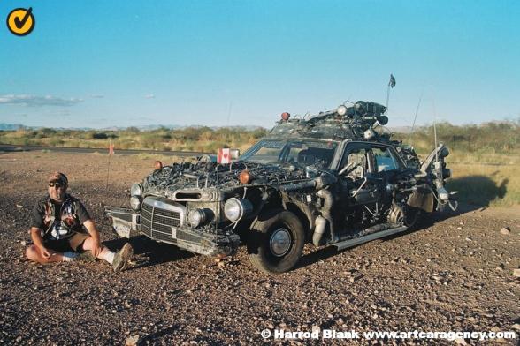 Space Junk Art Car by Rot'N Hell A.K.A. John McMahon