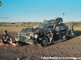 Space Junk Art Car by Rot'N Hell A.K.A. John McMahon