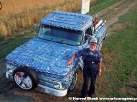Spoon Truck Art Car by Elmer Fleming