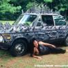 Thorny Rock 'N Roll Art Car by Alex Coward