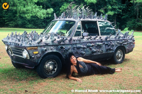 Thorny Rock 'N Roll Art Car by Alex Coward