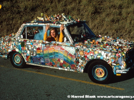 Turkey Toyota Art Car Ramona Moon