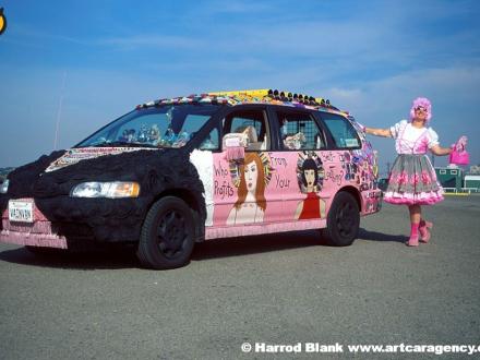 Vain Van Art Car by Emily Duffy