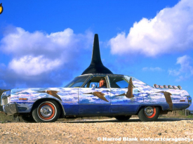 Whale Car Art Car by Christian Zajac