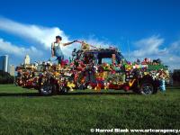Yard Sale Art Car by Cass Flag