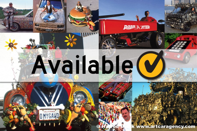 Art Cars Available For Appearances