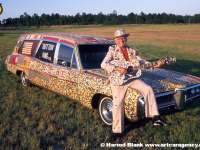 Button Hearse Art Car by Dalton Stevens