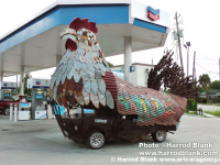 Chicken Car by Smitty Regula