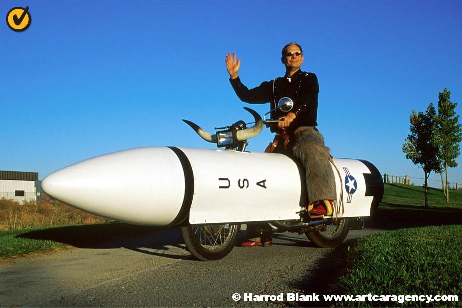 West Houston Vw >> Rocket Bike Art Bike By Scott McNamara | Art Car Agency