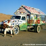 Salvation Mountain Truck