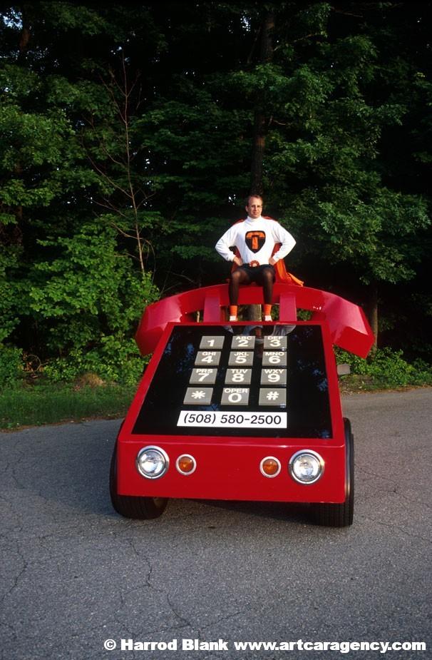 West Houston Vw >> Telephone Car Art Car By Howard Davis | Art Car Agency
