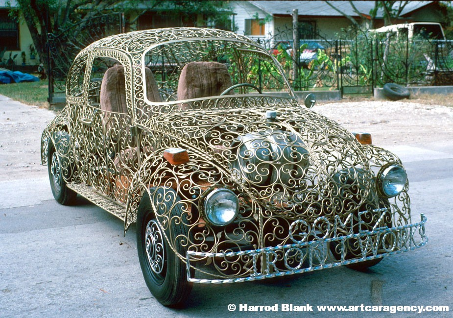 Wrought Iron VW Art Car By Joe Gomez | Art Car Agency
