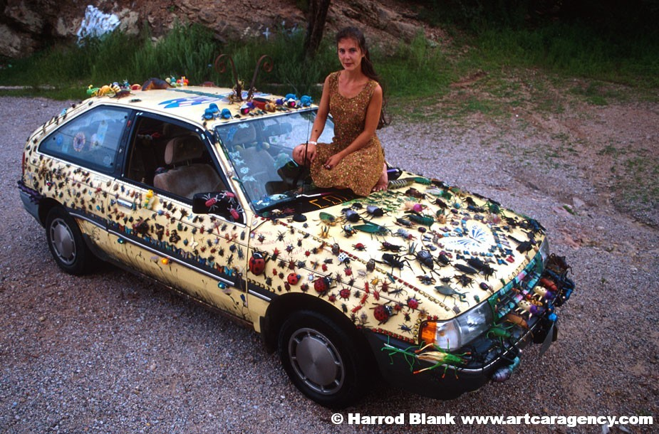 cootie art car by karen wetherill art car agency