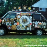 Time Machine Art Car by Hoop
