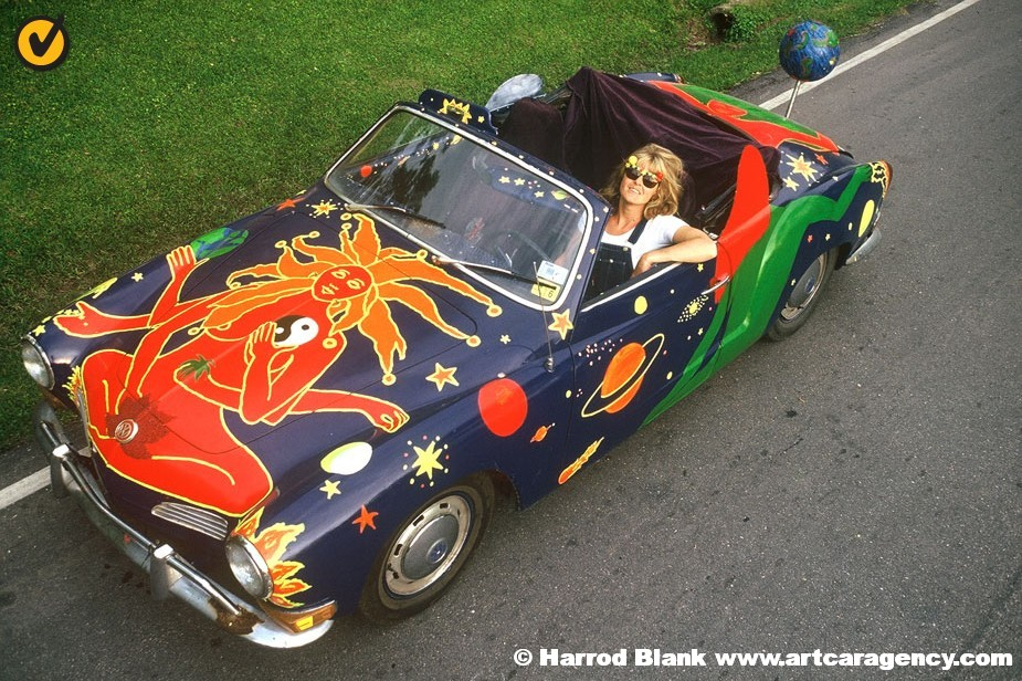 Planet Karmann Art Car by Shelley Buschur   Art Car Agency